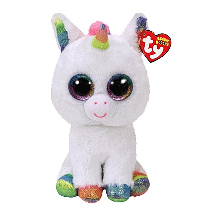 Autre Ty Beanie Boos Elephant and Monkey Plush Doll Toys for Girl Rabbit Fox Cute Animal Owl Unicorn Cat Ladybug 6  15cm(Couleur blanc unicorn) à prix pas cher