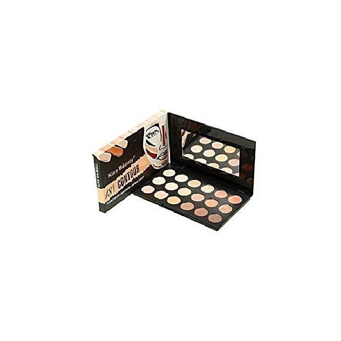 kiss beauty palette contouring 18 couleurs au maroc pas cher jumia maroc. Black Bedroom Furniture Sets. Home Design Ideas