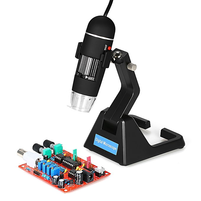 UNIVERSAL S09 Digital 25X-600X 2.0MP Microscope Continuous Magnifier with High-End Universal Bracket à prix pas cher