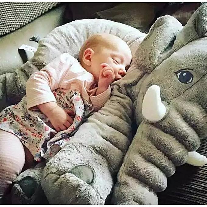 Autre 40 60cm Infant Plush Elephant Soft Appease Elephant Playmate Calm Doll Baby Toy Elephant Pillow Plush Toys Stuffed Doll(bleu) à prix pas cher