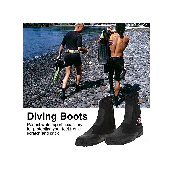 Other KEEP DIVING 1 Pair 5mm Neoprene Scuba Diving Snorkeling Long bottes Water chaussures(M) à prix pas cher