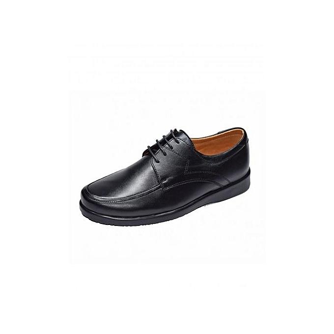 Confort Médical Chaussure Chaussure Chaussure Médicale 100% Cuir Véritable - Noir; à prix pas cher  | Jumia Maroc 5bea36