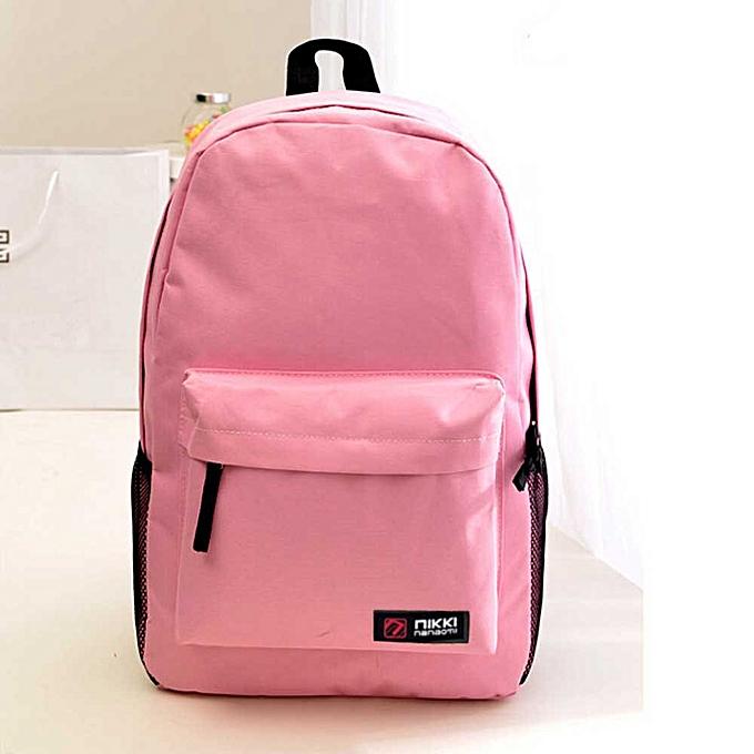 OEM femmes Hommes Student sac à dos School Shoulder sac à dos Handle sac rose à prix pas cher