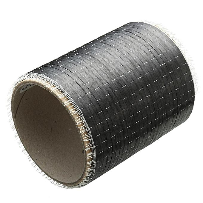 UNIVERSAL 2pcs 12K 200gsm Real Carbon Fiber Fabric Cloth Tape UNI-Directional Weave 4  x 108  à prix pas cher