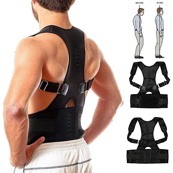 Réglable Correction de Posture Epaule Support Dos Ceinture Dorsale Soutien  Maintien pour hommes femmes enfants et 1293e83c12c