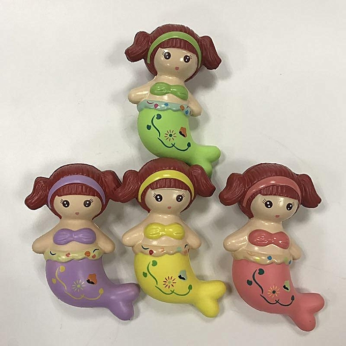 UNIVERSAL LeiLei Squishy Mermaid SFaible Rising  Packaging Collection Toy à prix pas cher