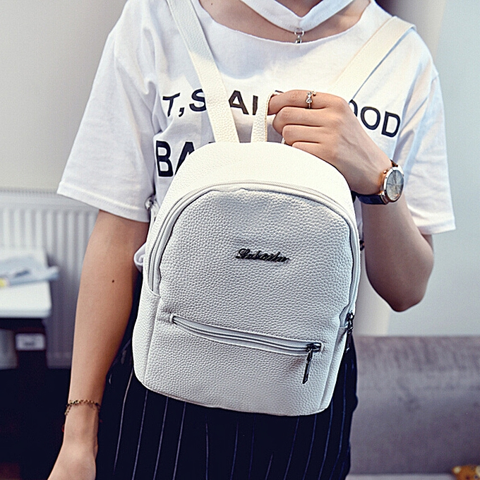 OEM Girls cuir School sac voyage sac à dos Satchel femmes Shoulder sac à dos WH à prix pas cher