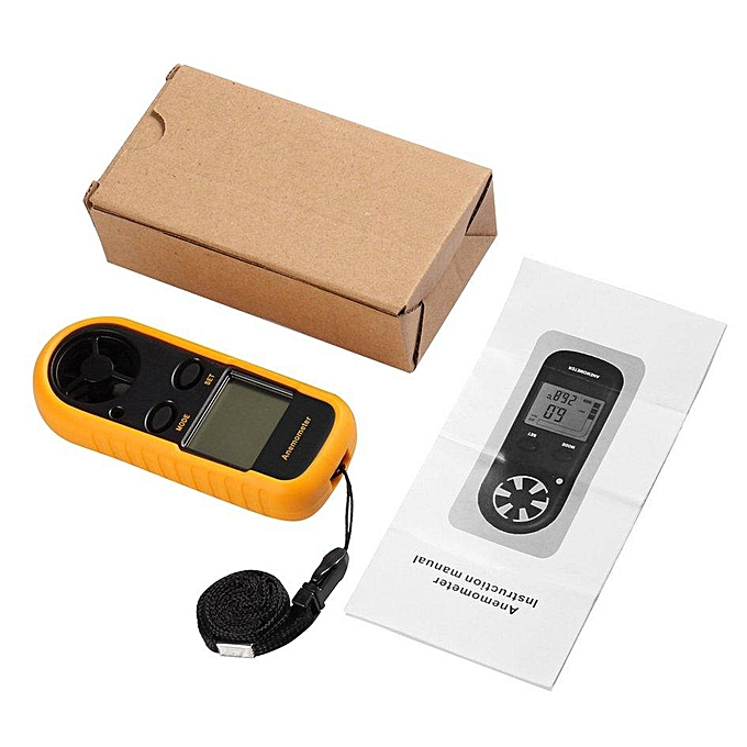 Other OH GM816 LCD Digital Anemometer Air Wind Speed Scale Gauge Meter Thermometer FCJMALL à prix pas cher
