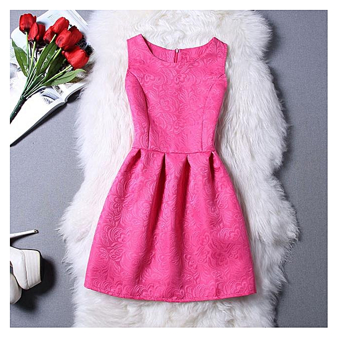 Fashion schoolcool femmes Elegant Evening Casual Sleeveless A-Line Dresses HOT L à prix pas cher