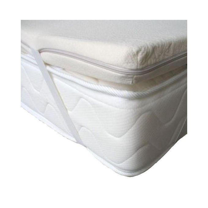 jm brand surmatelas memoire de forme bambou 90x190 cm acheter en ligne jumia maroc. Black Bedroom Furniture Sets. Home Design Ideas