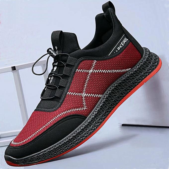 Fashion Men's chaussures, wild hommes casual chaussures, baskets rouge à prix pas cher    Jumia Maroc