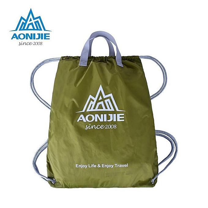 UNIVERSAL de plein air Folding Sports Drawstbague sac à dos imperméable Nylon Training sac Basketball Swimmig Pouch à prix pas cher