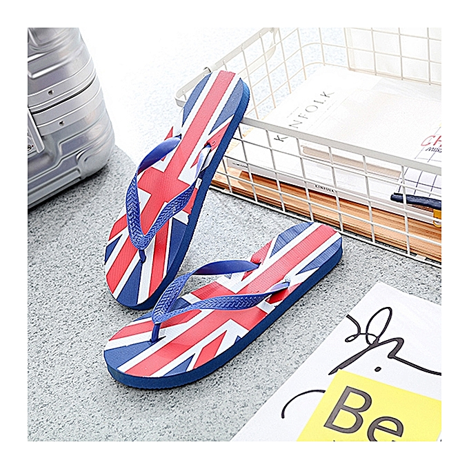 Fashion S-427449  Men's Sandals Flip-flops British Style Comfortable Casual Non-slip Wear-resistant à prix pas cher    Jumia Maroc