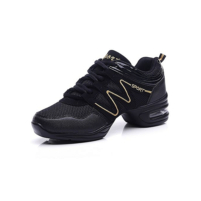 Fashion Jazz Dance chaussures femmes Air Mesh baskets Lady Fitness chaussures (noir) à prix pas cher    Jumia Maroc
