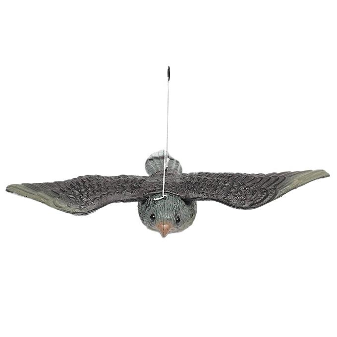 GENERAL Realistic Flying Bird Hawk Pigeon Decoy Pest Control Garden Scarer Scarecrow Ornament à prix pas cher