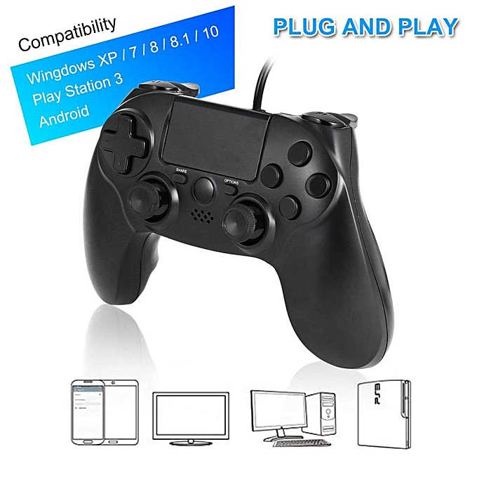 Other Dual Vibration Wirouge Game Controller Gamepads LBQ à prix pas cher