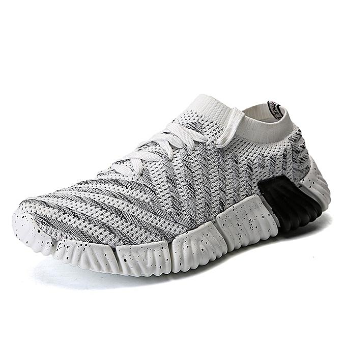 Fashion Men Soft Sole Breathable Mesh baskets Casual Sports chaussures à prix pas cher