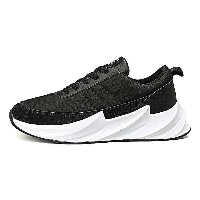 Fashion Fashion Simple Men's Comfortable baskets-noir à prix pas cher