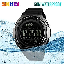 ENVOI INTERNATIONAL. Bluetooth Smart Sport Watch Montre Homme SKMEI Brand Men's Calorie Pedometer Remote