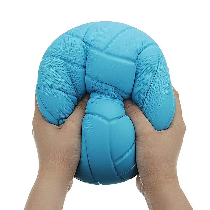 OEM Collection de cadeaux pour le dessin animé de jouet géant en forme de squishy énorme de volley-ball 8in 20CM à prix pas cher