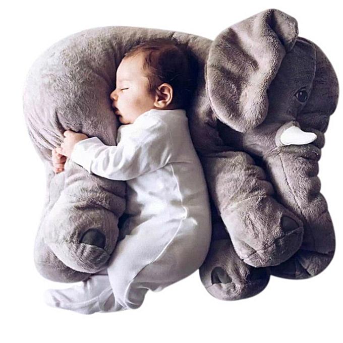 Autre 40 60cm Infant Plush Elephant Soft Appease Elephant Playmate Calm Doll   Toy Elephant PilFaible Plush Toys Stuffed Doll (rose) à prix pas cher