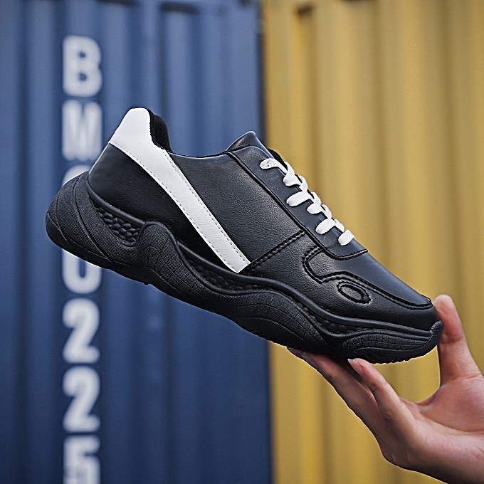 OEM New sports wind single chaussures running hommes chaussures fashion old chaussures low to help coconut chaussures casual chaussures-noir à prix pas cher    Jumia Maroc