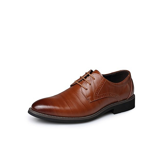 Fashion Fashion Fashion  's Dress Shoes Formal Leather Shoes UK Size : 6.5 To 10.5  -Brown à prix pas cher  | Jumia Maroc 189c0c