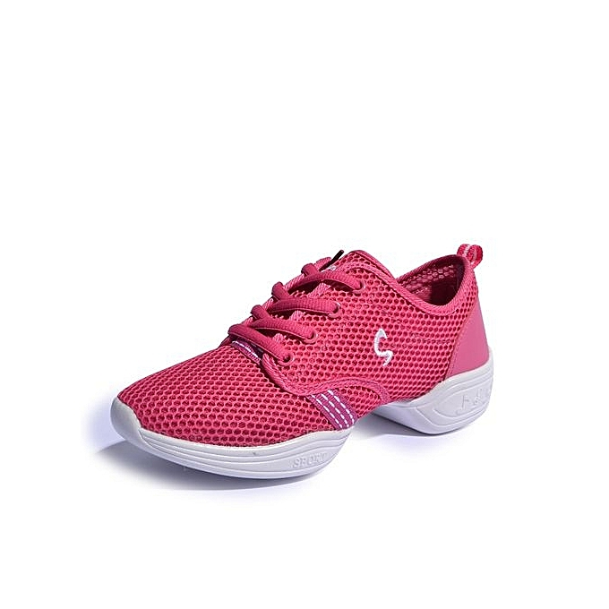 Fashion femmes Jazz chaussures Air Mesh baskets Lady Dancy chaussures (rose) à prix pas cher    Jumia Maroc