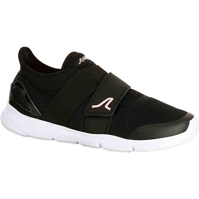 Femme Sportive Chaussures Newfeel Marche Cher Noir Rose wT6fAnq1