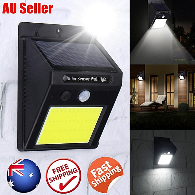 UNIVERSAL 48 LED Solar Powerouge PIR Motion Sensor Wall Light Outdoor Waterproof Garden Lamp à prix pas cher