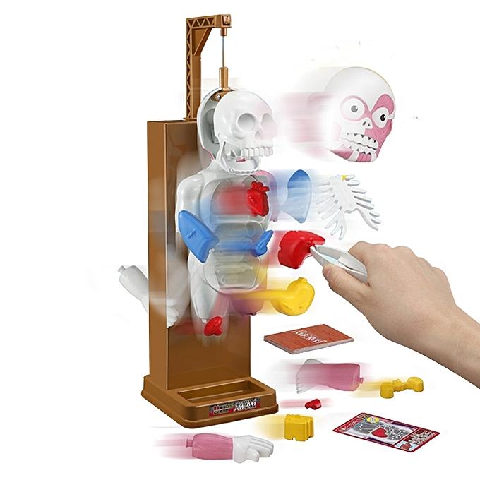 UNIVERSAL Svoiturey Huhomme Body Model Trick Joke Game Creepy 3D Puzzle Novelcravates Toys Gag Gift Assembled Toy - à prix pas cher