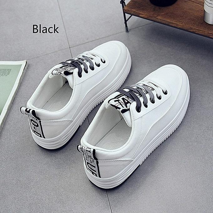 Autre Stylish Stylish Autre Korean Thick Sole Highten White Shoes à prix pas cher  | Jumia Maroc 59802e