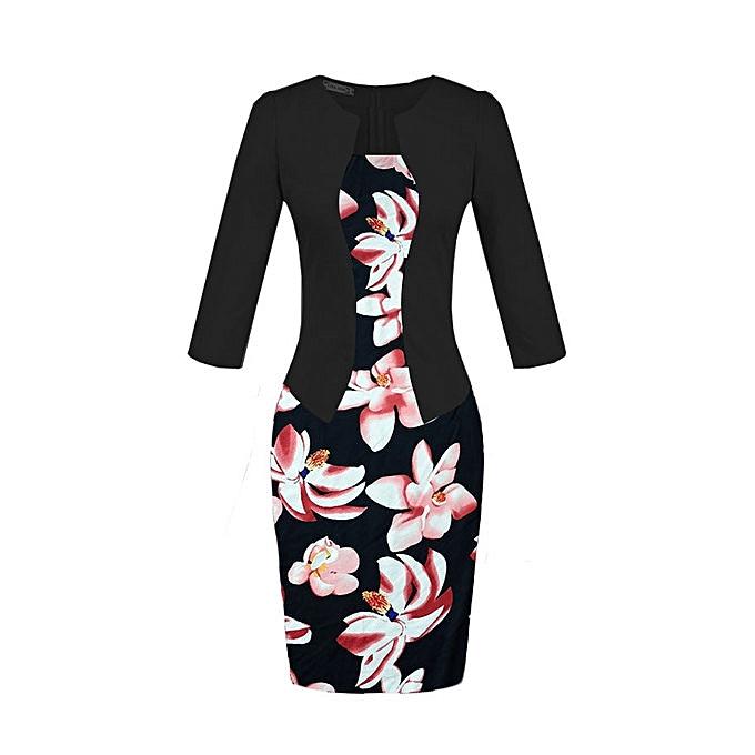 OEM Hot Wohommes professional bag hip pencil fashion comfortable dress-23 à prix pas cher