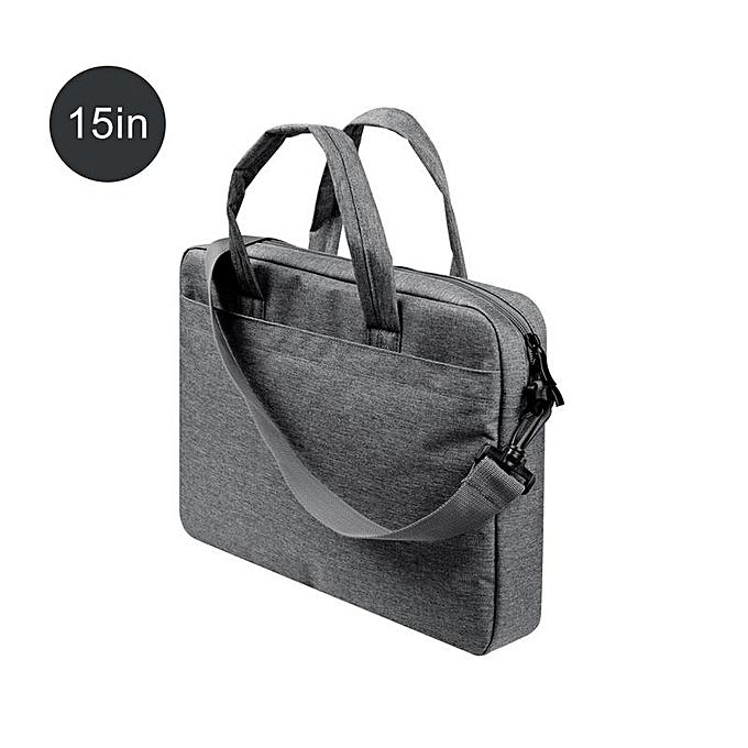 Other Laptop Briefcase Business Single Shoulder Bag 13 15 15.6 Inch Handbag For Office Laptop Briefcases Messenger Bag femmes Male Bags(noir 15) à prix pas cher