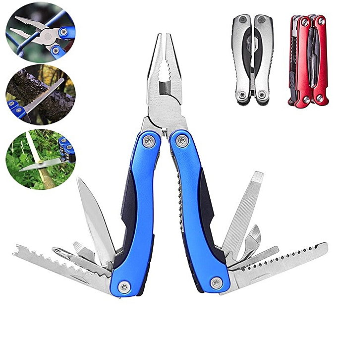 Autre Portable Multifunction Plier Folding Saw Wire Cutter for Camping Fishing Hiking Survival Multi Tool ALI88( 2 Inches) à prix pas cher