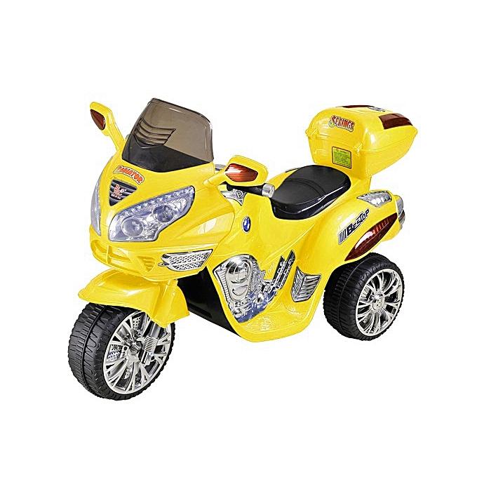 Generic Grand Motocycle tricycle Electrique rechargeable pour Enfants, scooter moto 1 place 121X49X72CM ( 2 à 7 ans) à prix pas cher
