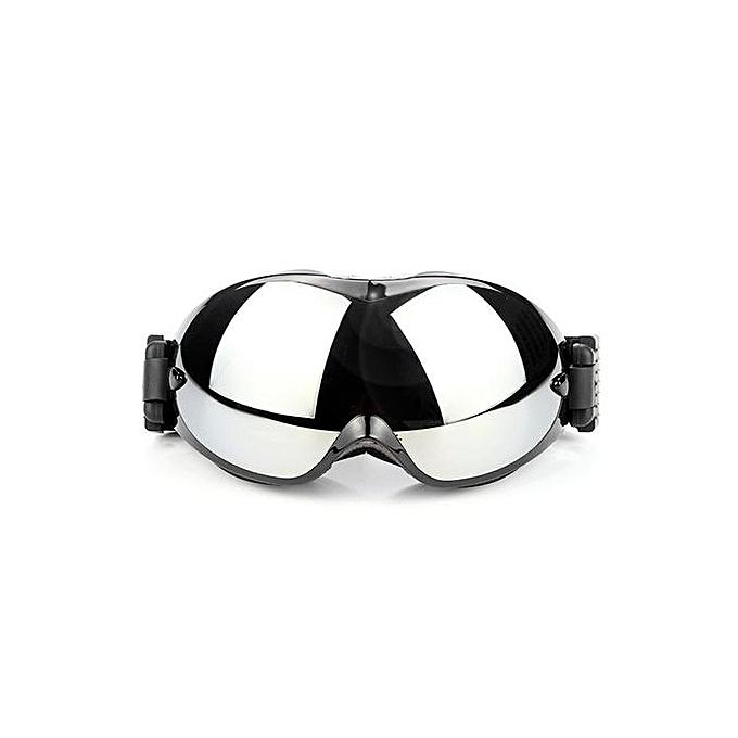 Generic Home-Unisex Ski Goggles UV400 Skiing Snowboard Anti-sand Windproof Eyewear HQ800noir à prix pas cher