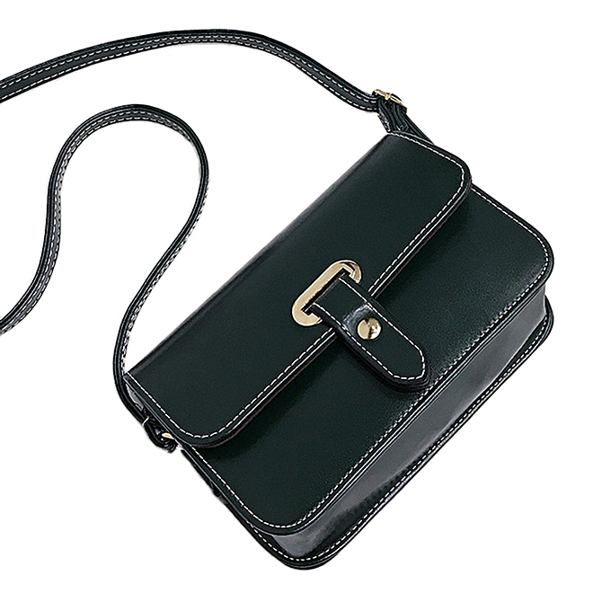 Duoya Girls femmes Retro Female Simple Bag Crossbody Shoulder Bag Handbag- vert à prix pas cher