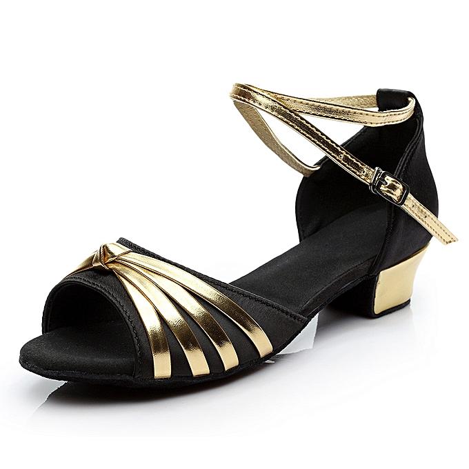 Fashion femmes Dancing Rumba Waltz Prom Ballroom Latin Salsa Dance chaussures Sandals à prix pas cher