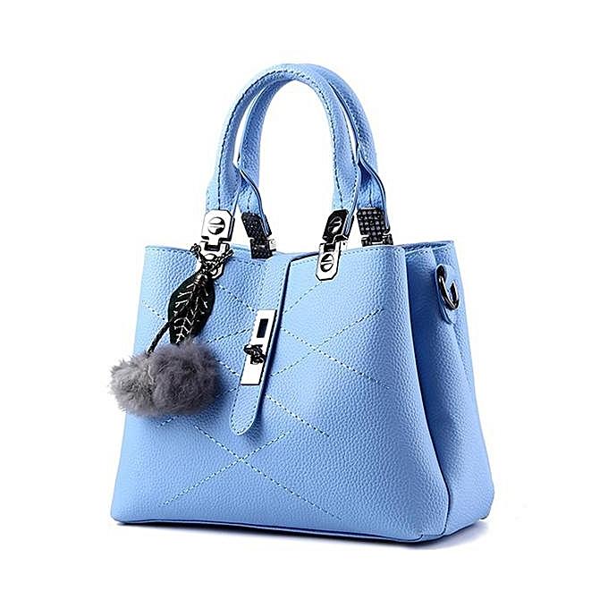 mode femmes Quality PU cuir Functional Handsac Shoulder sac bandoulière sacs  bleu à prix pas cher