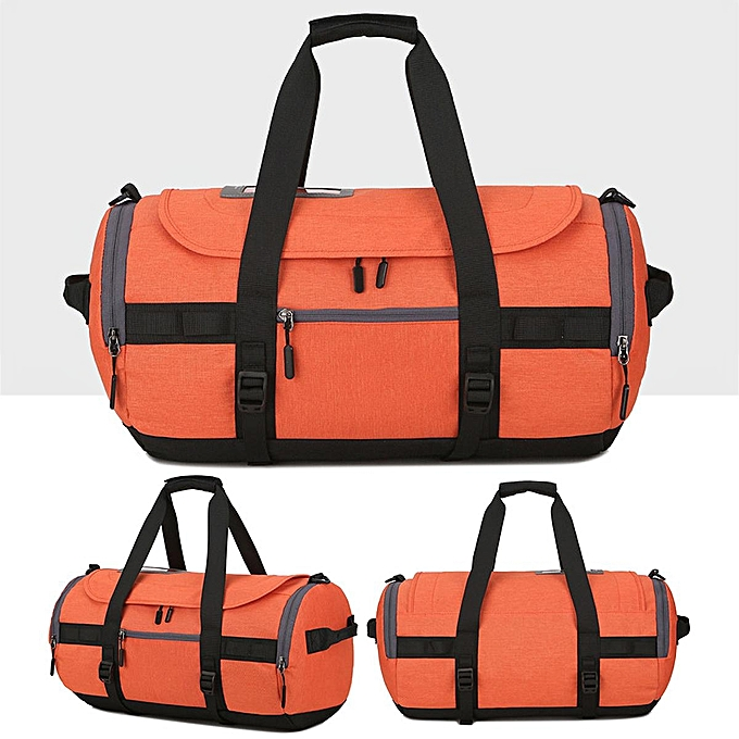 mode imperméable Sports Gym voyage Duffle sac Fitness Training Yoga Shoulder Handsac Orange à prix pas cher