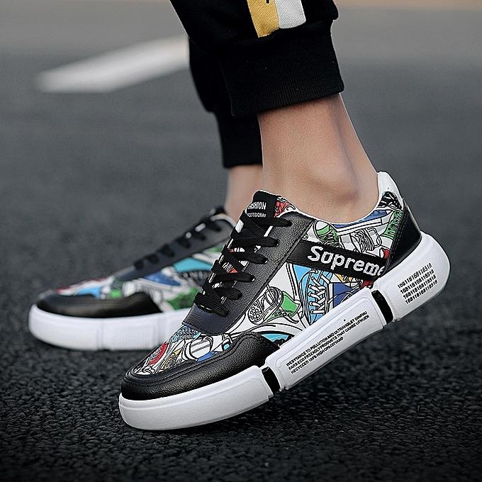Other Spbague 2019 nouveau Hommes's chaussures Korean version sports board hommes Décontracté toile chaussures-noir à prix pas cher