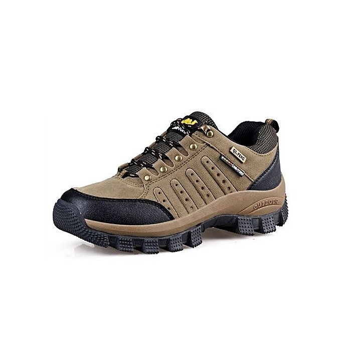 Glorystar Refined Brand   Hiking Shoes Outdoor Mountain Climbing Climbing Climbing Boots For   Hiking Botas Fashion Sport Trekking Shoes-khaki à prix pas cher  | Jumia Maroc 5edbca