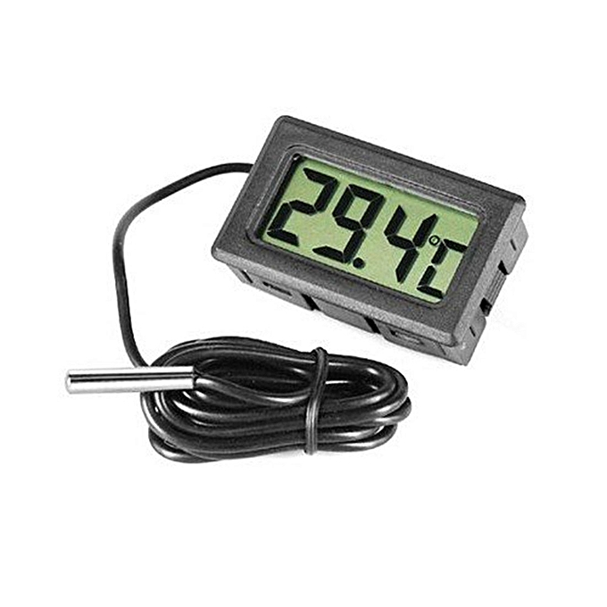 Other noir Mini Thermometer Temperature Meter Digital Lcd Display Probe Fridge Refrigerator Hot Selling (noir) LJMALL à prix pas cher