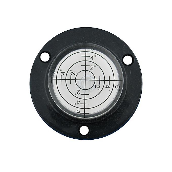 Autre Haccury New Product 509mm Flanges Universal Circular level Plastic bubble level with Mounting Holes(noir) à prix pas cher