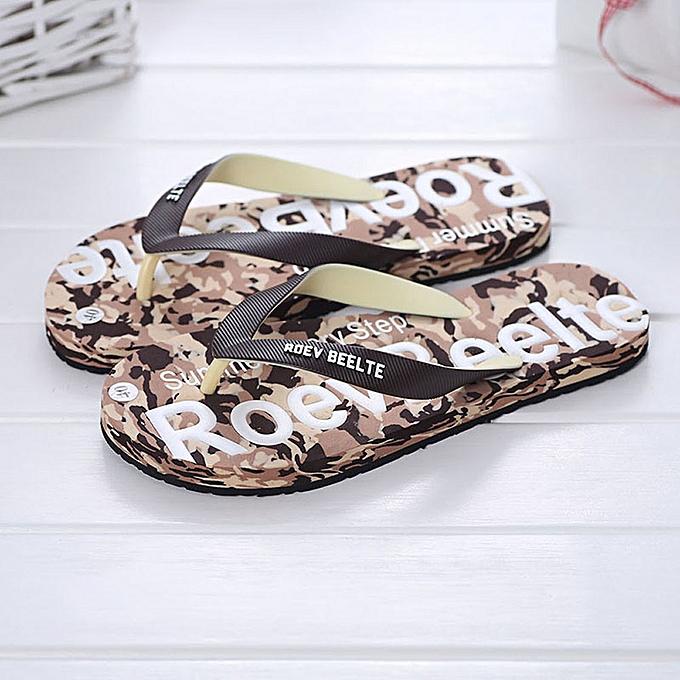 Fashion Sandales pour Hommes - Marron à prix pas cher
