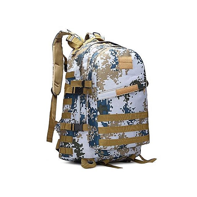 mode Singedan40L 3D sac à dos de plein air Trekking Sport voyage  Camping Hiking Camouflage sac M -M à prix pas cher
