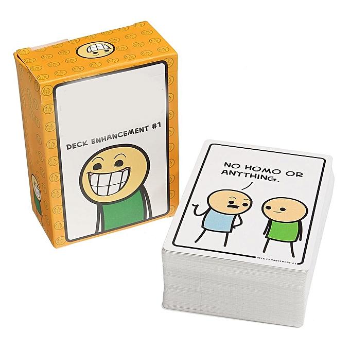 UNIVERSAL 100Pcs Joking Table Game voitureds Toy Deck EnhanceHommest  1 Party Happiness Expansion à prix pas cher