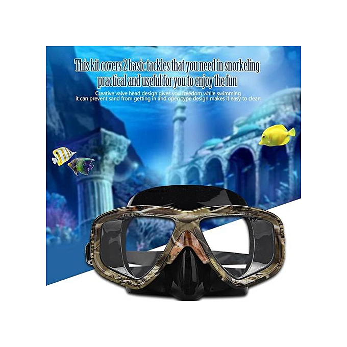 Other Yon Sub Snorkeling Goggles Eye Prougeector Air Tube Swimming Breathing Valve à prix pas cher