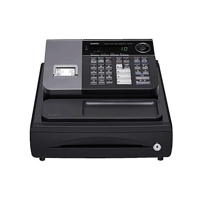 Casio Caisse enregistreuse éléctronique noir SE-S10 à prix pas cher